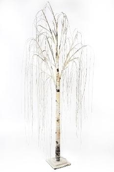 "LED Weidenbaum ""Sonja"" weiss H 200cm (192 LED)"
