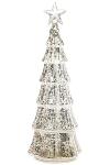 Beleuchteter LED Weihnachtsbaum mit Stern,