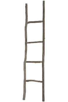 "Decoration wooden ladder ""Leida"""