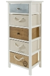 "sideboard ""Eliza"", with 5 drawers - FSC"