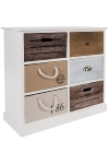 "sideboard ""Eliza"", with 6 drawers - FSC"