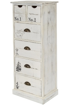 """sideboard """"Leila"""", with 6 drawers"""