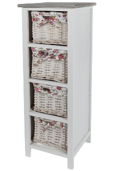 "sideboard ""Rosella"" with 4 Baskets"
