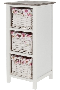 """sideboard """"Rosella"""" with 3 Baskets"""