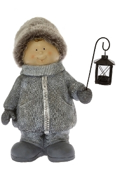 Winterkind Junge  A H 51 cm natur
