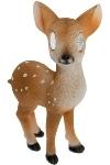 Reh 'Bambi' mit Solarbeleuchtung stehend,
