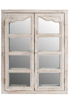 "mirror ""Aaron"", with swing doors"
