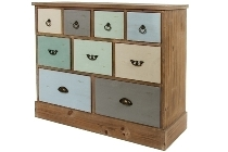 "side board ""Samuel"", with 9 drawers - FSC"