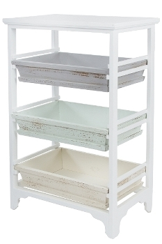 "Shelf with 3 drawers ""Ordwin"""