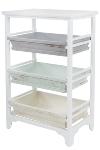 "Shelf with 3 drawers ""Ordwin"""