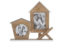 "Wooden Picture Frame ""Grelie"""