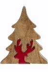Deko Puzzle Baum mit Renntier, groß