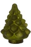 Glasbaum H15cm matt grün