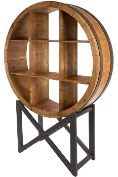 """wallrack """"Colonial"""", round"""