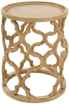 "Wooden side table ""Amazonia"""