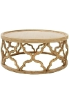 "Wood side table ""Amazonia"" height ca. 37 cm,"