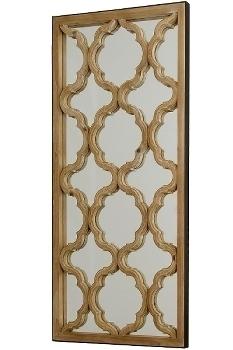 "Wall mirror ""Tropica"" - 122 x 61cm - nature"