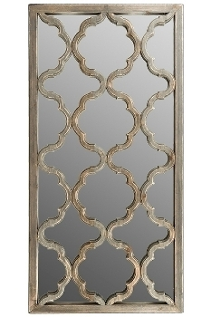 "Wall mirror ""Amazonia"" - 122 x 61cm - brown"