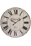 "wall clock ""Cafe de la tour"", wooden"