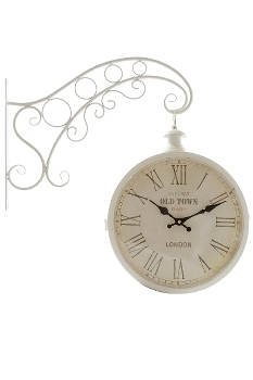 "wall clock ""Old Town"", metal"