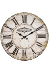 "wall clock ""Hotel"", wooden"