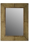 "mirror ""Colonial"", with wooden frame"