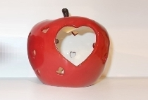 APPLE WITH LED heart.