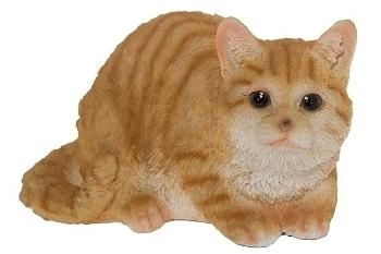 "Katze ""Lulu"" gelb/weiß getigert B"