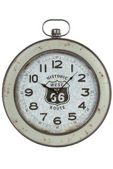 wall clock , wooden