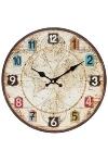 wall clock, wooden
