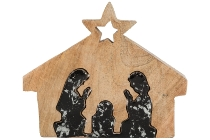 Deco Nativity House