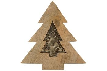 Deco Puzzel tree with tree metal handwork