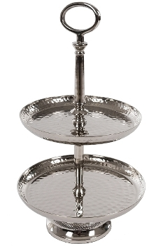 cake stand, material: aluminium