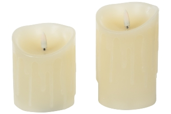 LED dropping candle with new flamless