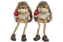 Ceramic hedgehog with floppy legs