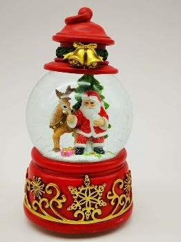 100mm water ball Santa and deer