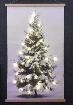 LED Hanging Canvas 3XAA Batteries, Not Included