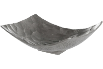 "Metal bowl ""Jasminr"", small, silver"