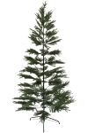 210CM FULL PE TREE WITH 751 TIPS METAL STAND BOTTOM WIDTH:129CM