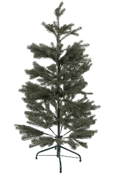 120CM HING FULL PE TREE WITH 301 TIPS METAL STAND BOTTOM WIDTH:66CM