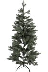 150CM HING FULL PE TREE WITH 451 TIPS METAL STAND BOTTOM WIDTH:81CM