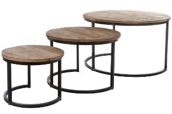 "Set of Coffee Tables ""Moon"", 3 pcs."