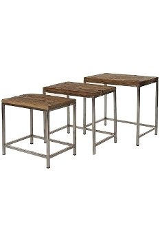 "side table ""Leno"", set of 3"