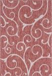 """Carpet """"Outdoor Beauties """" Rectangular Rust Red"""